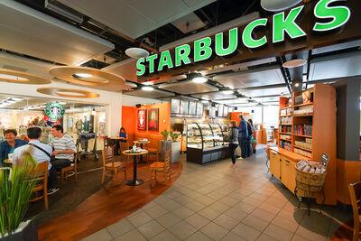 Starbucks coffee house in Switzerland