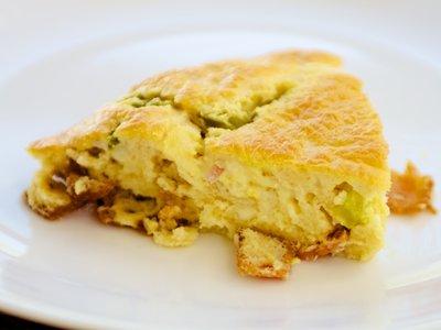 Bacon Bisquick Breakfast Pie