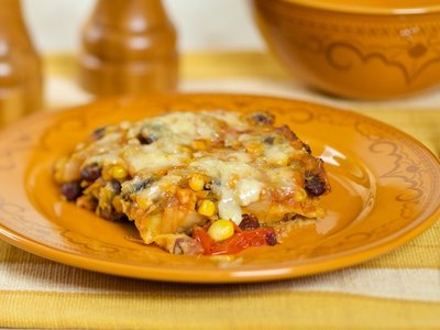 Chilaquiles Tortilla Casserole