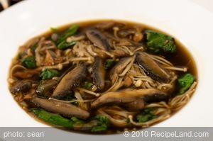 Spinach-Mushroom Soup