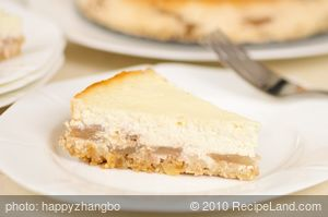 Low Fat Apple Ricotta Pie