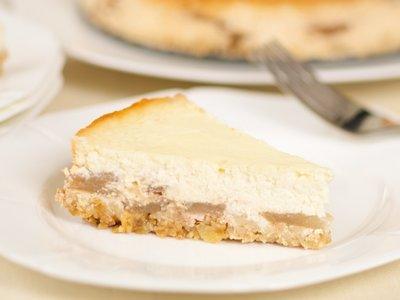 Low Fat Apple Ricotta Pie