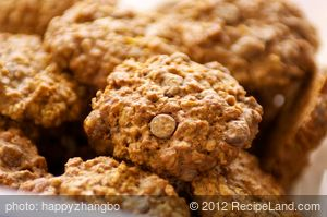 Apple Sauce Oatmeal Chocolate Chip Cookies
