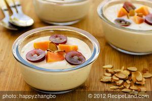 Ginger Yogurt with Fruit