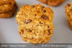 Applesauce Chocolate Chip-Oatmeal Cookies