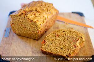 Cheesy Tomato Quick Bread
