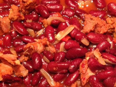 Portuguese Spicy Bean Stew