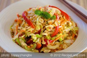 Thai Cabbage Slaw