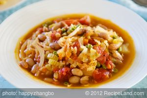 Cabbage Bean Soup