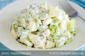 Apple and Grape Salad