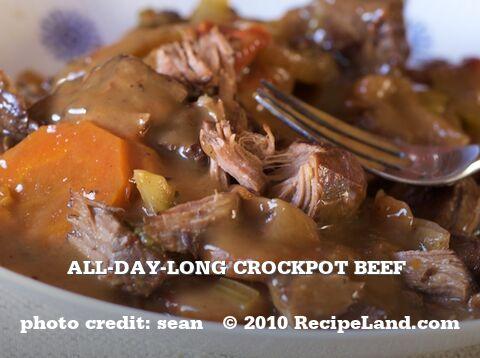 All-Day-Long Crockpot Beef