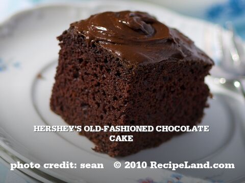 Hershey's Old-Fashioned Chocolate Cake