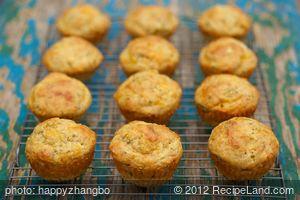 Savory Zucchini Muffins