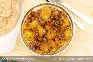 Aam Chutney (Pineapple-Chile Chutney)