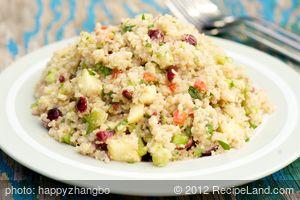 Healthy and Tasty: Ancient Grain Salad