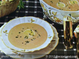 Chilled Seafood Bisque
