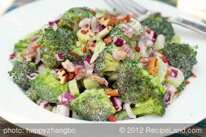 Broccoli Raisin Salad
