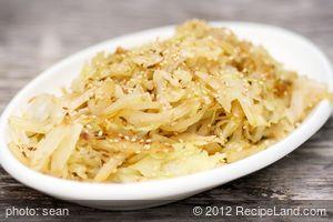 Aromatic Cabbage