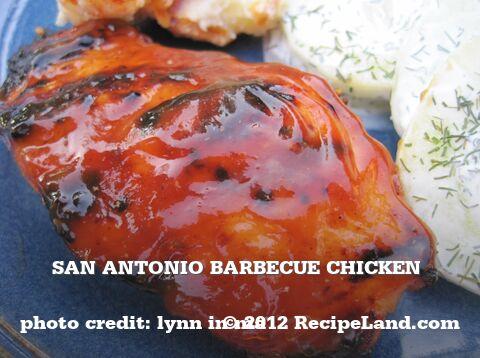 San Antonio Barbecue Chicken