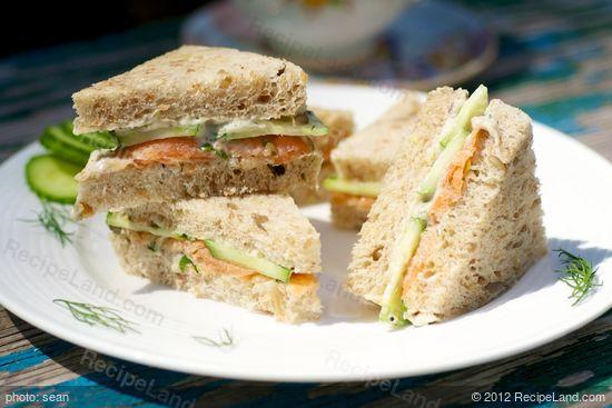 Aussie: Roseville Tea Sandwiches
