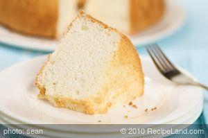 12-Egg-White Angel Food Cake