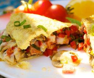 Low Fat Breakfast Omelet