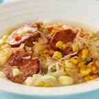Fresh Corn and Polish Sausage Chowder