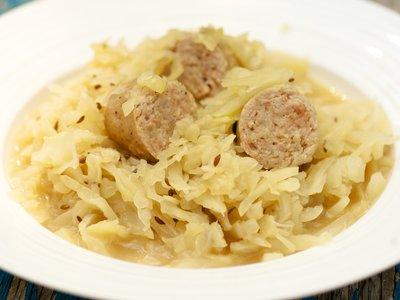Crockpot Knockwurst And Cabbage