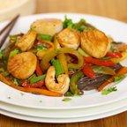 Shrimp and Sea Scallop Stir-Fry