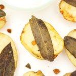 Sage and Garlic Roasted Potatoes