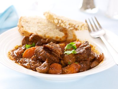 Hearty Stovetop Beef Stew