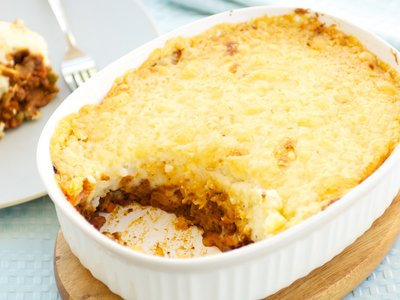 Garlicky Shepherd's Pie