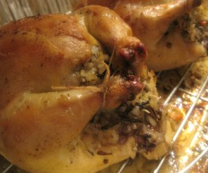 Roasted Game Hens