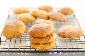 Chewy Applesauce and Peanut Butter Cookies