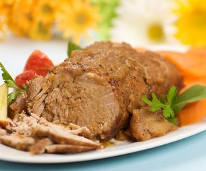 Apple-Glazed Roast Pork- Crockpot