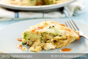 Chicken-Broccoli Pie