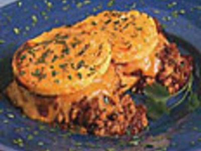 Easy Polenta Tamale Pie
