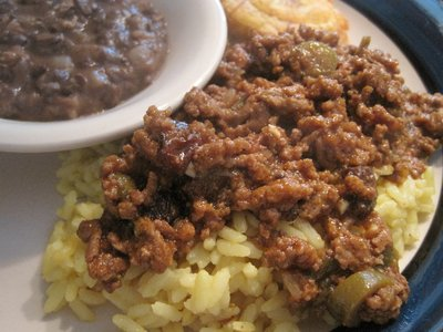 Picadillo Con Alcaparras (Picadillo with Capers)