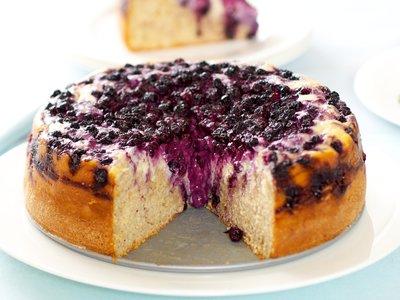 Blueberry Whole Wheat Danish Cheese Cake