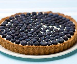 Blueberry Tart - Low Fat
