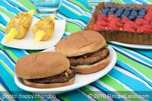 4th of July Grilled Portobello Burgers