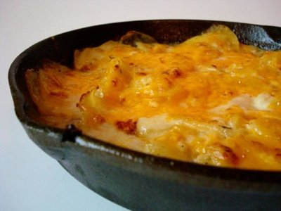 Chedder Scalloped Potatoes