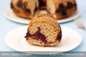 Almond Cherry Bundt Cake