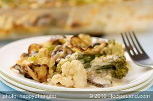 Simple Broccoli Cauliflower Casserole