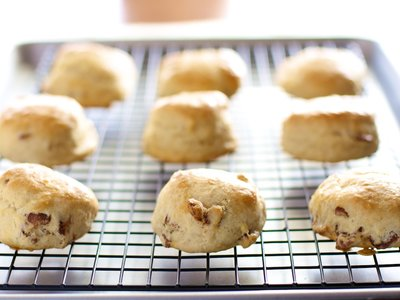 Bacon and Maple Scones