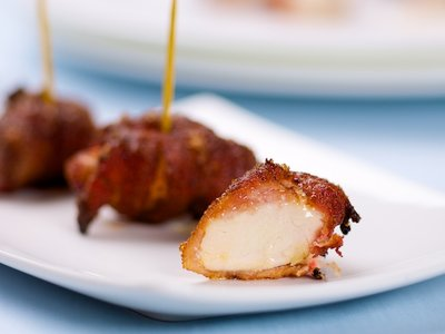 Spicy Sweet Bacon Wrapped Chicken