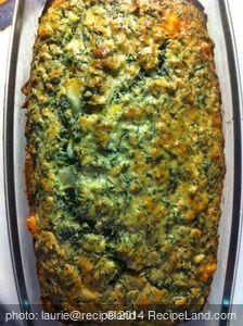 Spinach Bread (Bisquick)