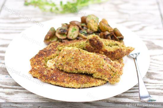 Herb and Parmesan Chicken Tenders