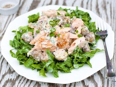 Creamy Salmon and New Potato Salad