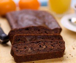 Almost Whole Wheat Chocolate Zucchini Bread
